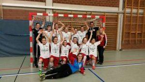 U15-Juniorinnen werden Hallen-Rheinlandmeister 2015