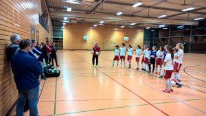 Futsalschulung mit den Meisterinnen