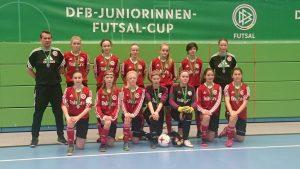 U 15 Juniorinnen sorgen für den größten Erfolg der SC 13 Vereinsgeschichte