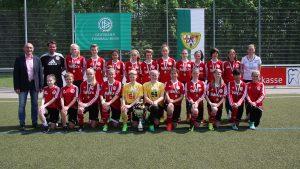 SC 13 Bad Neuenahr erneut B- Juniorinnen Champion des FVR – Allerdings mit der U 15