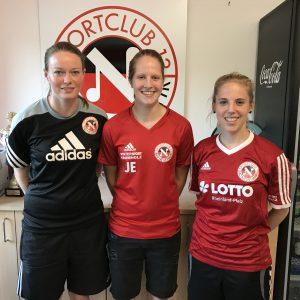 Jana Erbeling verstärkt SC 13 Jugendtrainerteam
