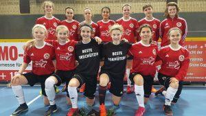 Klasse Auftritt der U 15 beim Girls Snow Cup – Vierter Platz gegen hochkarätige Konkurrenz