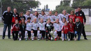 Der C 9 Juniorinnen Rheinlandpokal ist wieder zu Hause