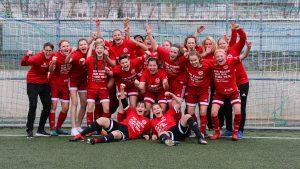 Wilde 13 erobert die Landeshauptstadt und steigt in die Juniorinnen Bundesliga auf