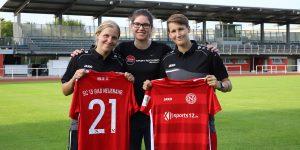 Im neuen Gewand in das Abenteuer Juniorinnen Bundesliga – Sports12.de neuer Trikotsponsor