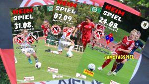 Vierseiter zum Spitzenspiel der U17 Bundesliga gegen den 1.FC Saarbrücken